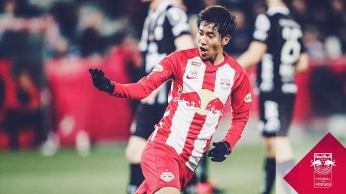 Masaya Okugawa scores in Salzburg's first league defeat salzburg 2_3 lask