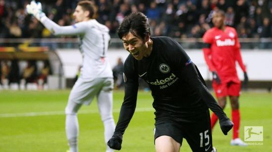 Frankfurt 3-0 RB Salzburg - Daichi Kamada hattrick