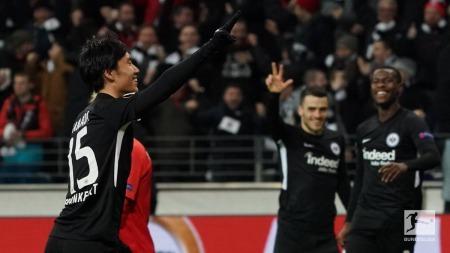 Frankfurt 4-1 RB Salzburg Daichi Kamada hattrick