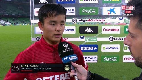 Betis 3-3 Mallorca Takefusa Kubo goal assist