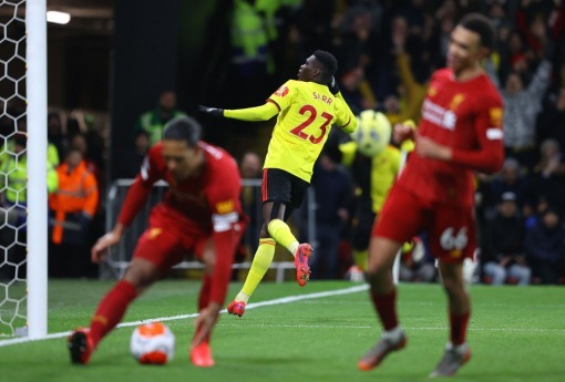 Watford 3-0 Liverpool Klopps side lose for the first time all season