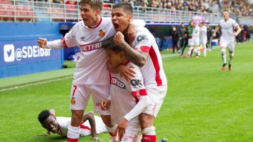 Eibar 1-2 Mallorca Takefusa Kubo goal