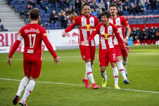 Red Bull Salzburg 2-0 Sturm Graz Masaya Okugawa goal