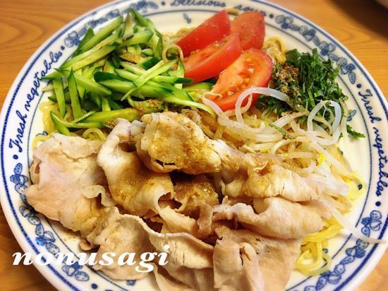胡麻ポン☆冷しゃぶ麺