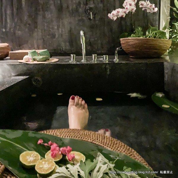 沖縄備瀬のBirth the suiteのバスルーム