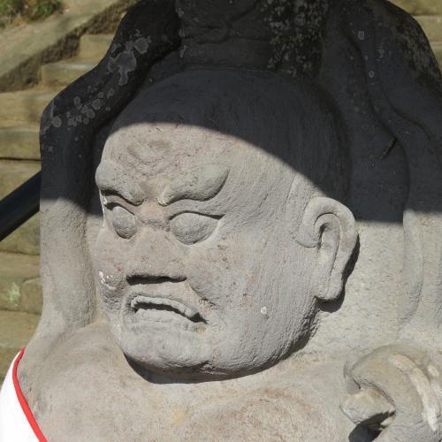 石造仁王-4