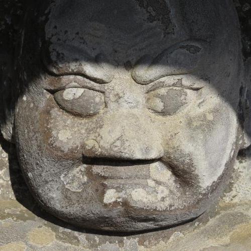 石造仁王-9