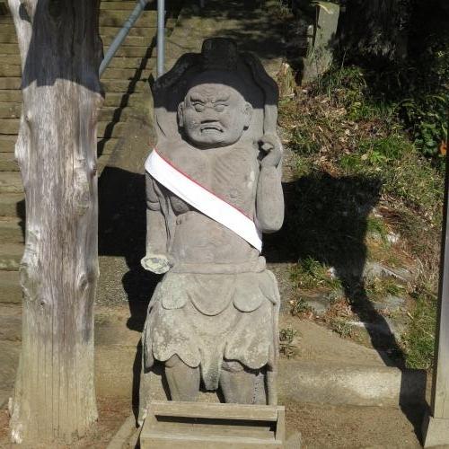 石造仁王-2