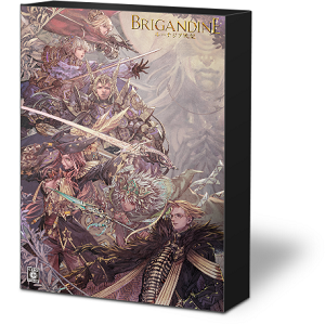 ブリガンダイン ルーナジア戦記 ゲオ限定 スチールブック brigandine geo steelbook