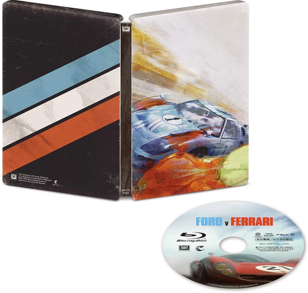 フォードvsフェラーリ スチールブック仕様 FORD V. FERRARI steelbook