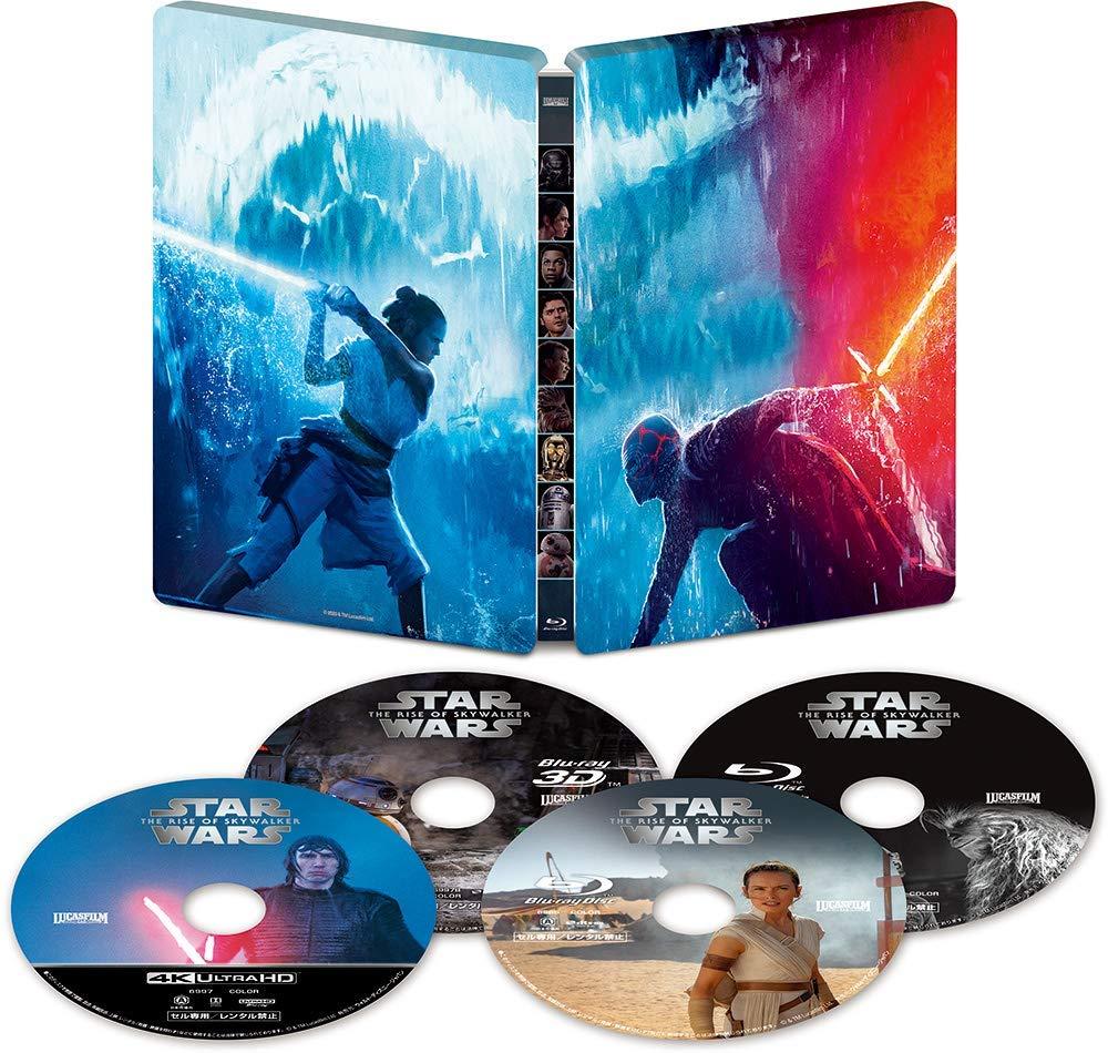 スター・ウォーズ スカイウォーカーの夜明け スチールブック仕様 Star Wars: The Rise Of Skywalker steelbook