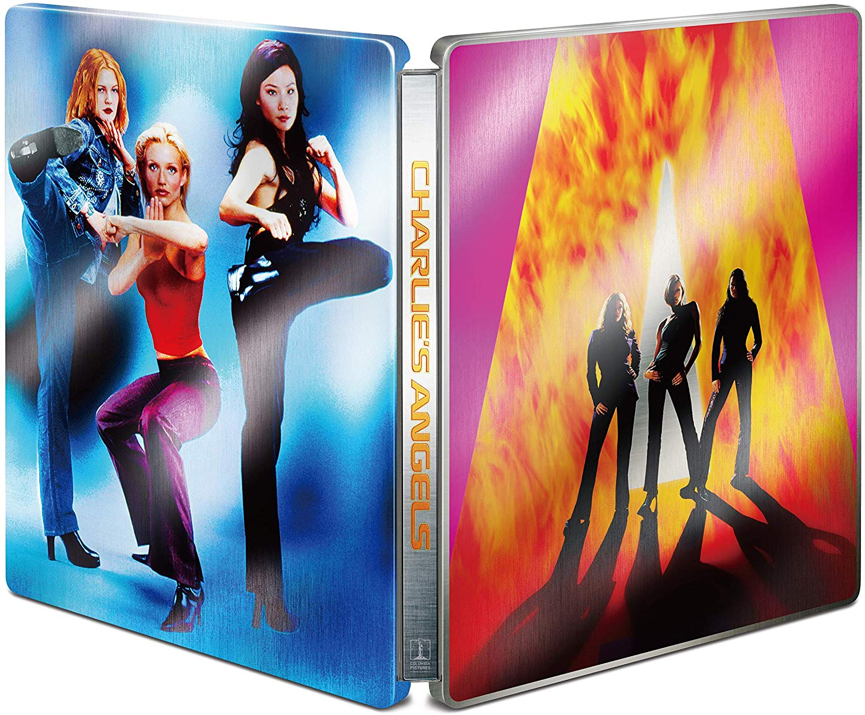 チャーリーズ・エンジェル 4K Ultra HD + ブルーレイ Amazon.co.jp限定 スチールブック Charlie's Angels steelbook