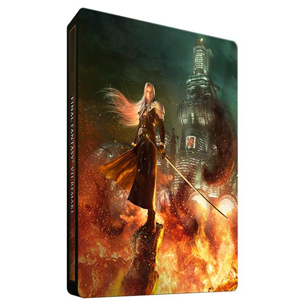 ファイナルファンタジーVII リメイク e-STORE限定 スチールブック FINAL FANTASY VII steelbook