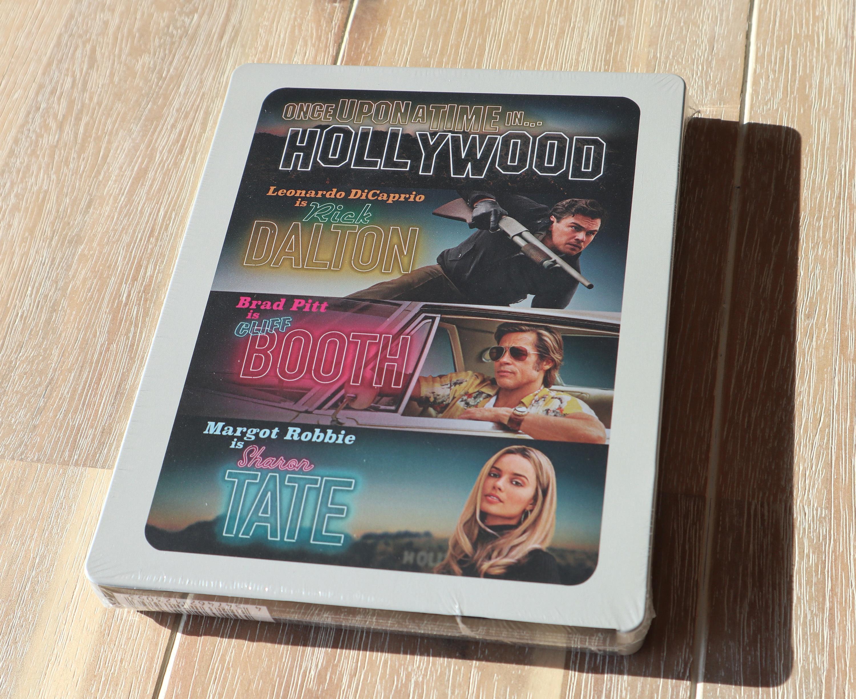 ワンス・アポン・ア・タイム・イン・ハリウッド Amazon.co.jp限定 スチールブック Once Upon a Time in Hollywood steelbook