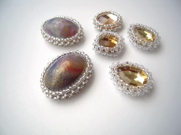beads bezel