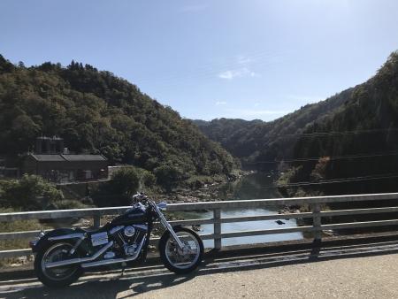 ぴーきち&ダイナ 高山ダムツーリング