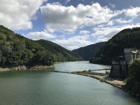 ぴーきち&ダイナ ハーレーで行く 天ケ瀬ダム ツーリング 鳳凰湖 上流