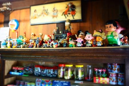 ぴーきち&ダイナ 和歌山湯浅ツーリング 湯浅おもちゃ博物館 店内ディスプレイ