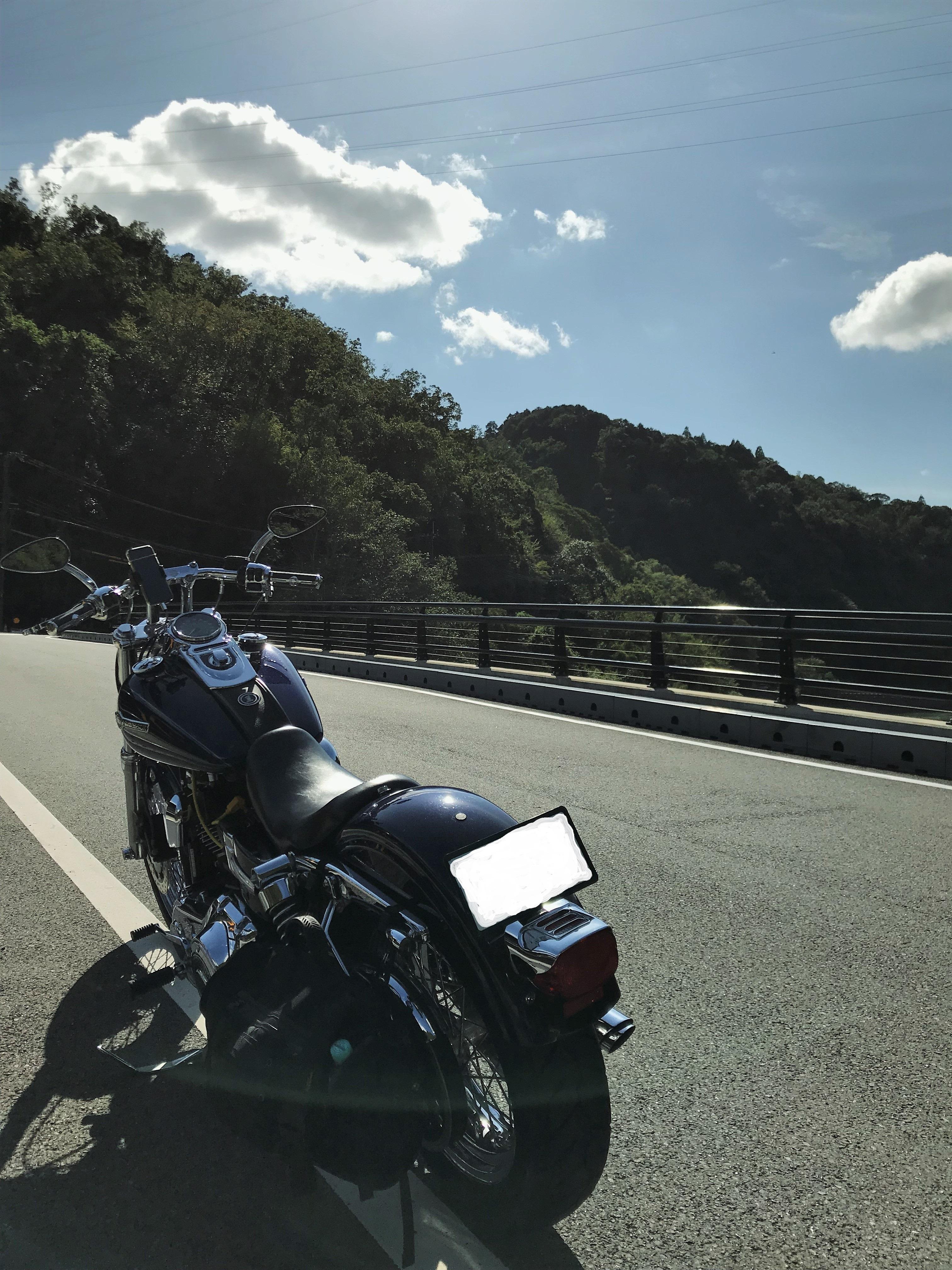 ぴーきち&ダイナ ハーレーで行く 天ケ瀬ダム ツーリング 白虹橋
