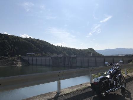 ぴーきち&ダイナ ハーレーで行く 一庫ダムツーリング 知明湖一周