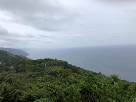 ぴーきち&ダイナ ハーレーで行く 室戸岬 ツーリング 室戸岬スカイライン山頂展望台