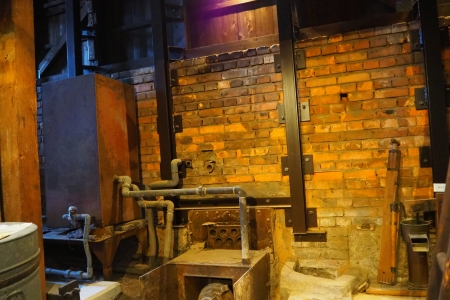 ぴーきち&ダイナ 和歌山湯浅ツーリング 湯浅町重要伝統的建造物群保存地区 甚風呂 バックヤード