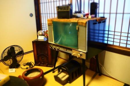 ぴーきち&ダイナ 和歌山湯浅ツーリング 湯浅町重要伝統的建造物群保存地区 甚風呂 昭和家電