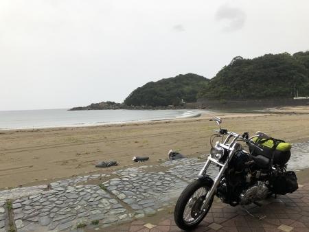 ぴーきち&ダイナ ハーレーで行く 室戸岬 ツーリング 高知の海岸