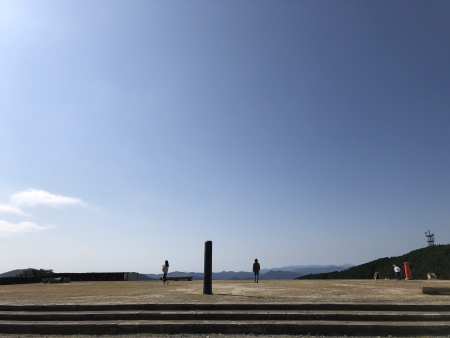 ぴーきち&ダイナ ハーレーで行く 伊勢志摩ツーリング 伊勢志摩スカイライン 朝熊山山頂展望台 天空のポスト