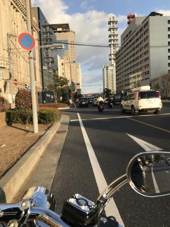 ぴーきち&ダイナ 有馬温泉ツーリング 神戸の国道
