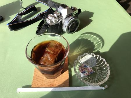 ぴーきち&ダイナ 布目ダムツーリング ぶらんぽーと 食後のドリンク