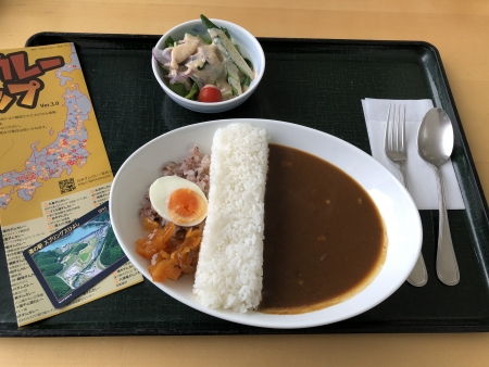 京都ダム巡り ツーリング 日吉ダム ダムカレー