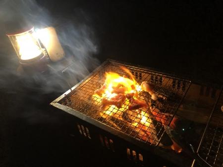 ぴーきち&ダイナ ハーレーで行く 室戸岬 ツーリング 安田川アユおどる清流キャンプ場 bbq