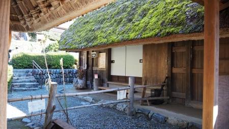 ぴーきち&ダイナ 美山 かやぶきの里ツーリング 美山民俗資料館 中庭
