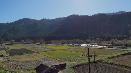 ぴーきち&ダイナ 美山 かやぶきの里ツーリング 知井八幡神社 景色