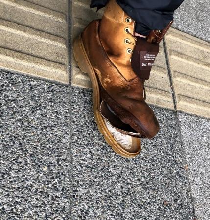 シマゴン靴