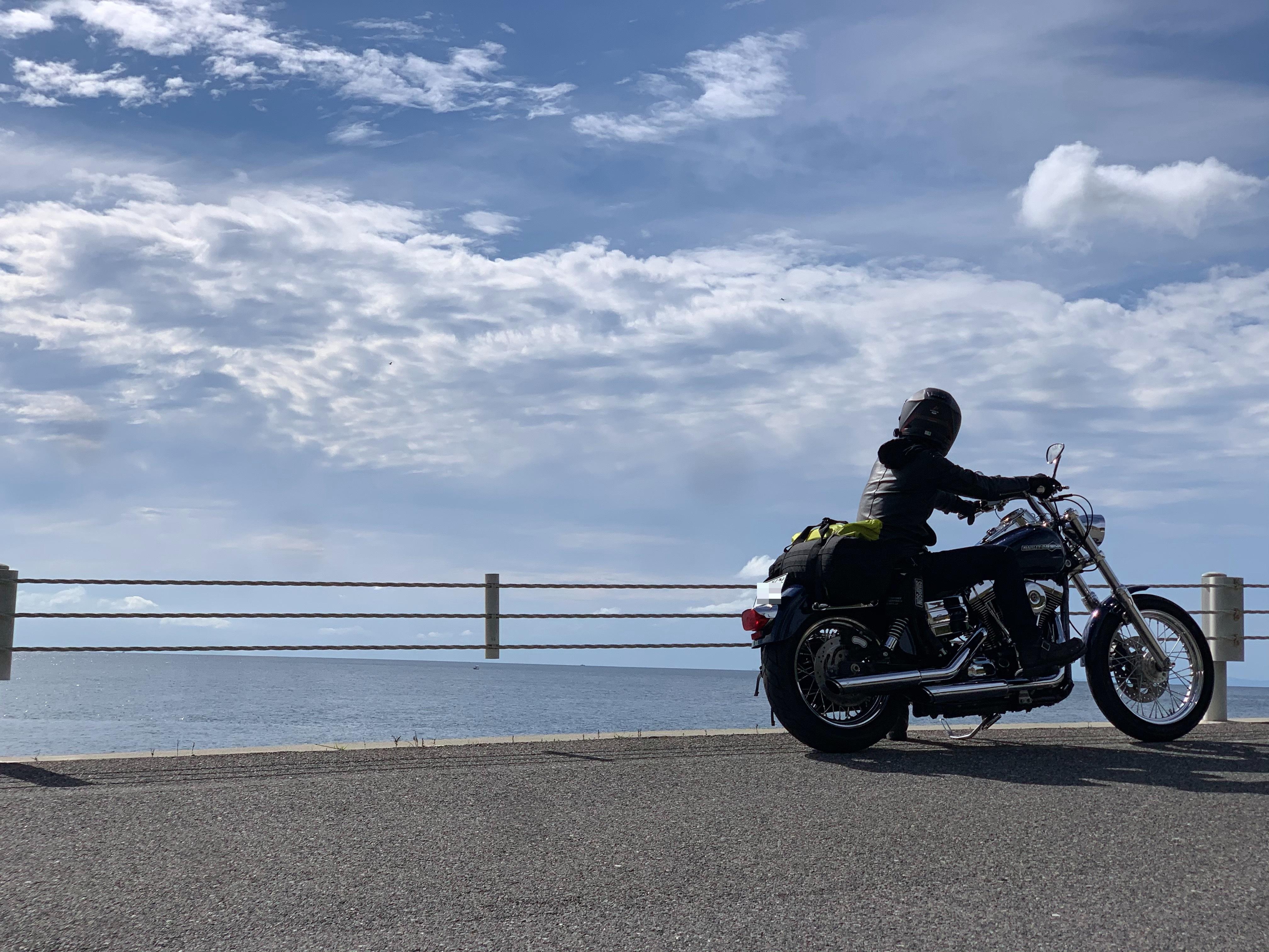 ぴーきち&ダイナ ハーレーで行く 室戸岬 ツーリング 淡路島の海岸線とぴーきち