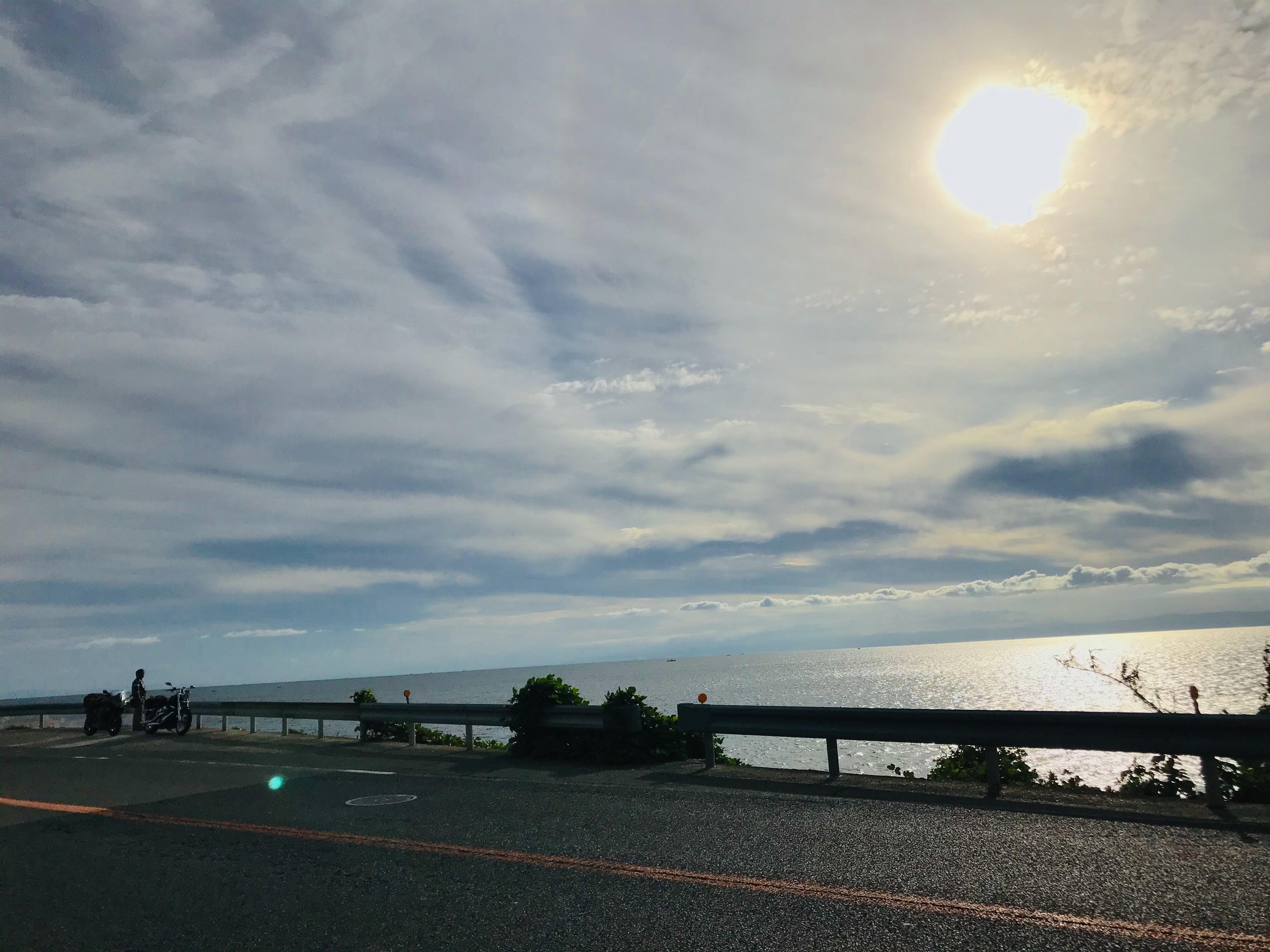 ぴーきち&ダイナ ハーレーで行く 室戸岬 ツーリング 淡路島 海岸線 絶景
