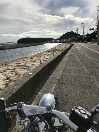 ぴーきち&ダイナ ハーレーで行く 室戸岬 ツーリング 淡路島 海岸線