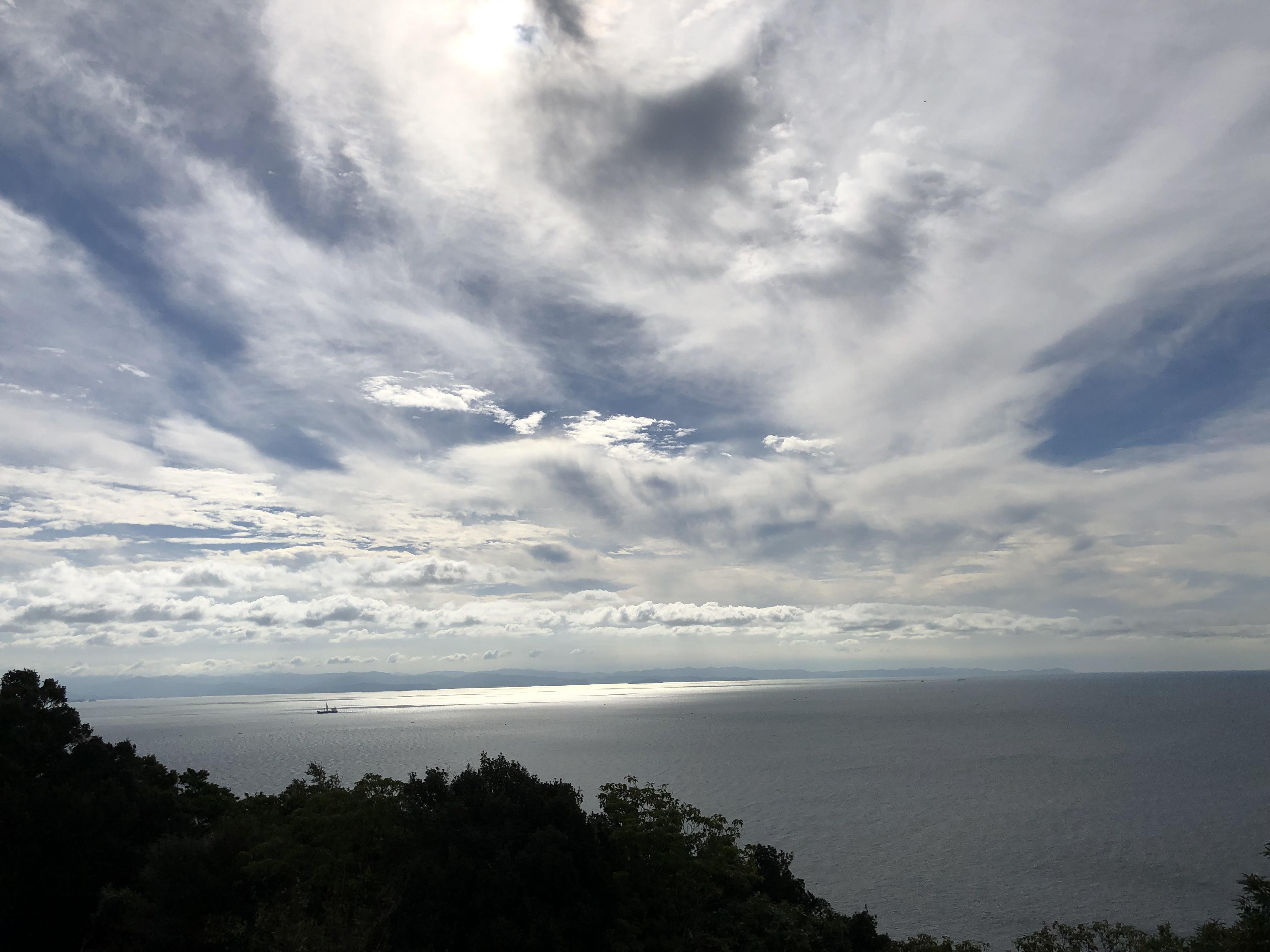 ぴーきち&ダイナ ハーレーで行く 室戸岬 ツーリング 生石公園 展望台
