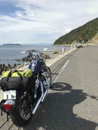 ぴーきち&ダイナ ハーレーで行く 室戸岬 ツーリング 淡路島の海岸線