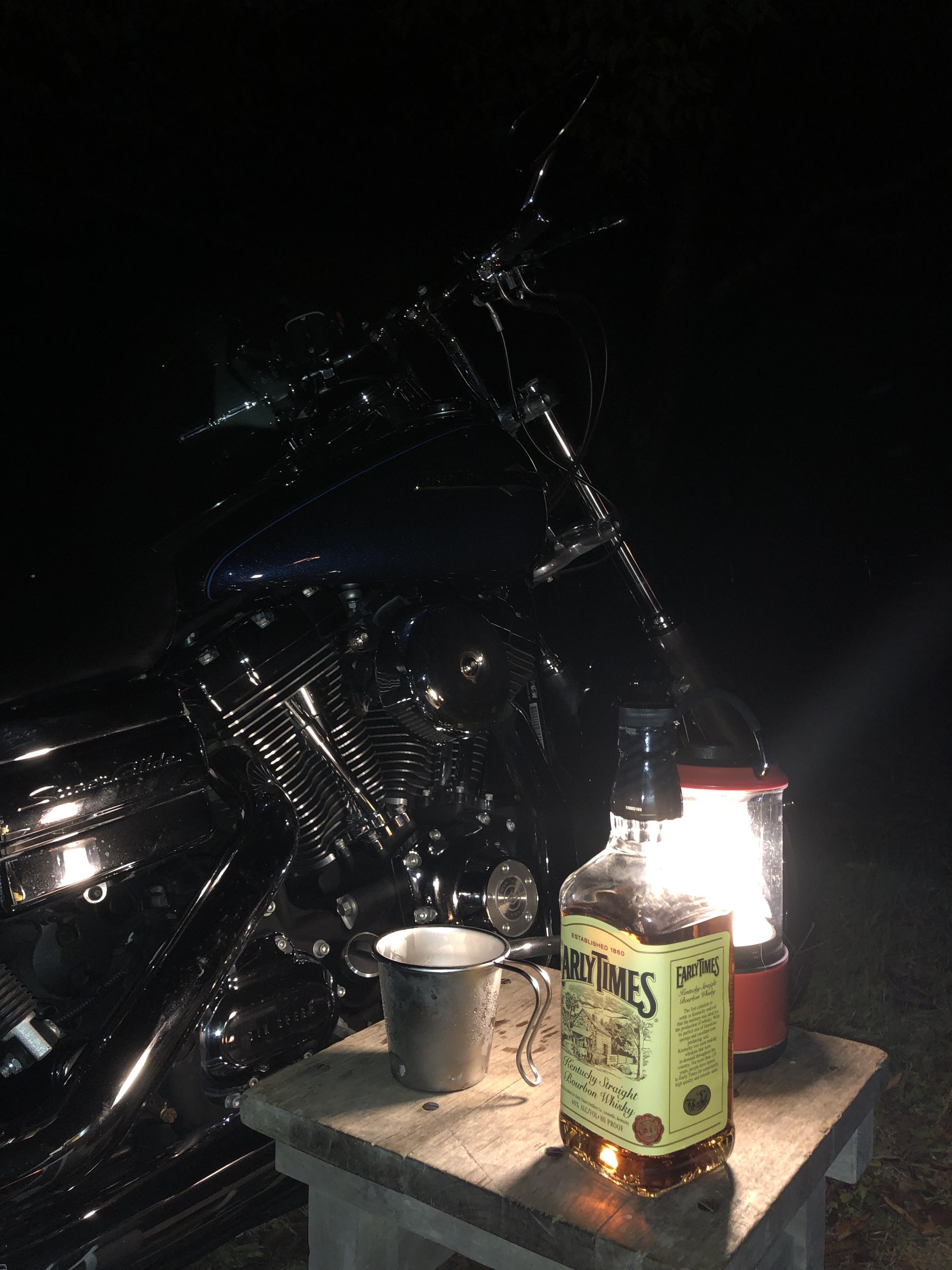 ぴーきち&ダイナ ハーレーで行く 室戸岬 ツーリング 安田川アユおどる清流キャンプ場 ウィスキー