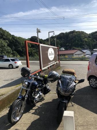 ぴーきち&ダイナ ハーレーで行く 室戸岬 ツーリング 洋食アントダイナ
