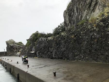 ぴーきち&ダイナ ハーレーで行く 室戸岬 ツーリング 高知 漁港