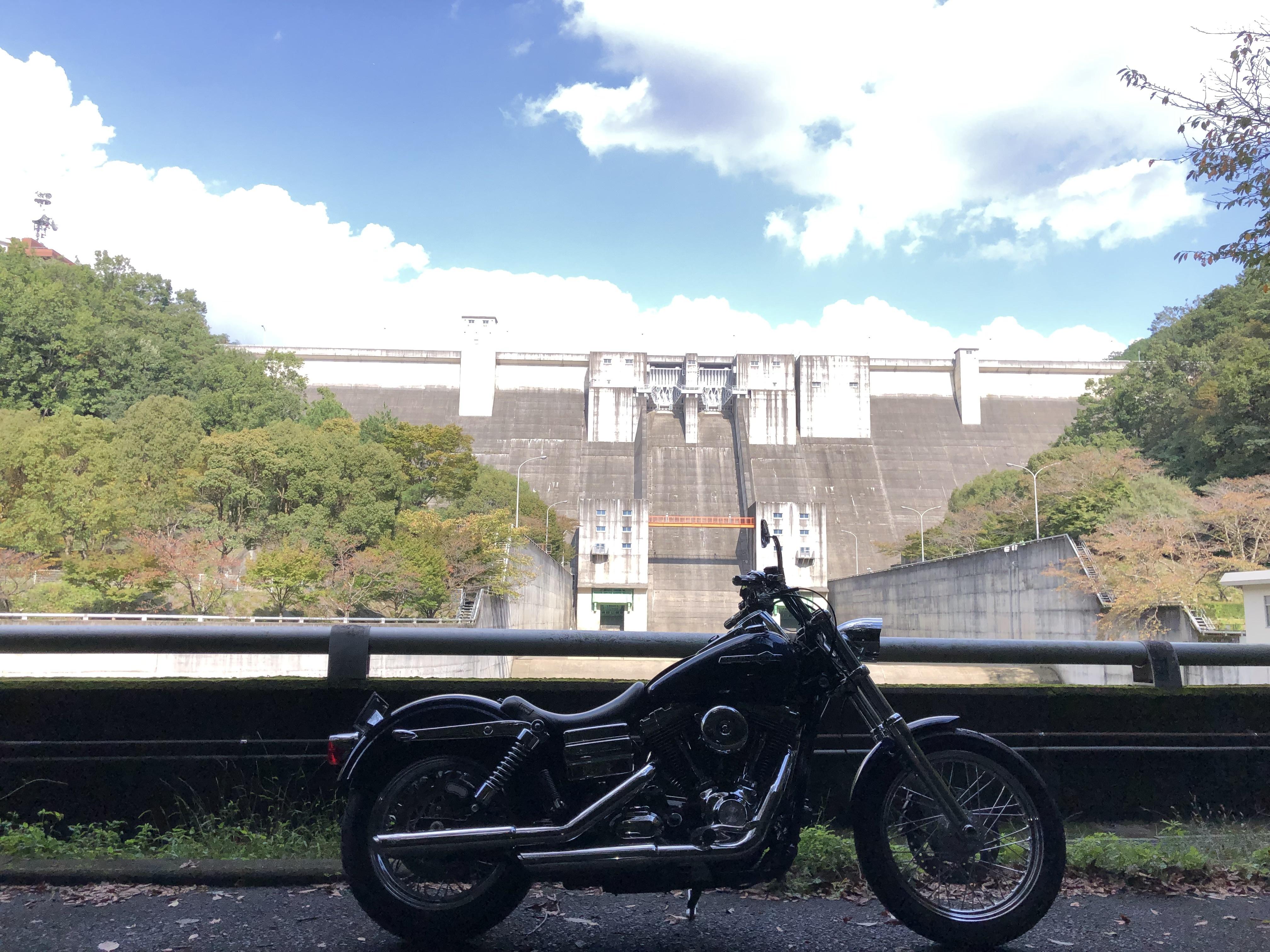 ぴーきち&ダイナ ハーレーで行く 一庫ダムツーリング 一庫ダムとダイナ