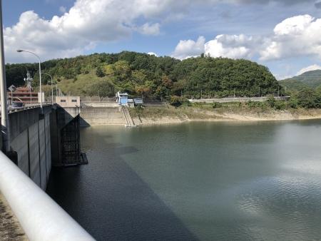ぴーきち&ダイナ ハーレーで行く 一庫ダムツーリング 知明湖