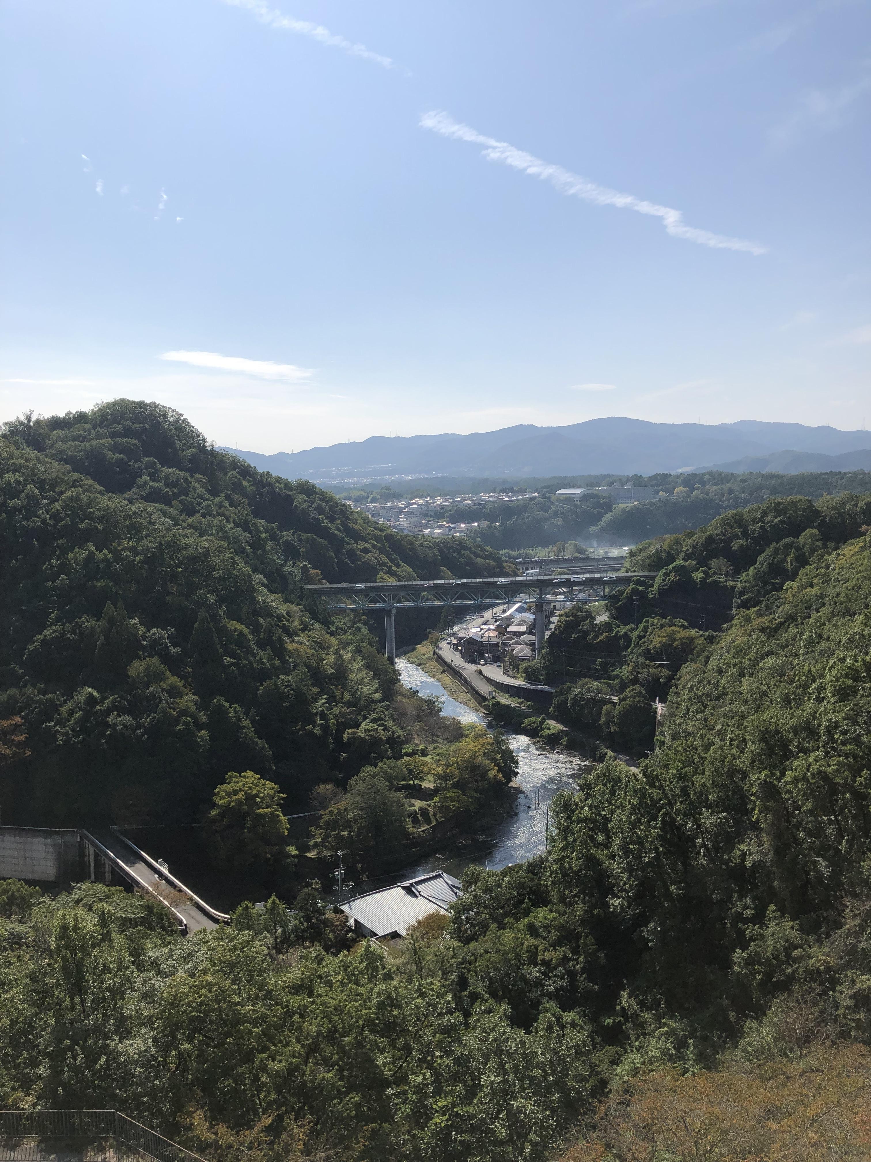 ぴーきち&ダイナ ハーレーで行く 一庫ダムツーリング 展望台 絶景