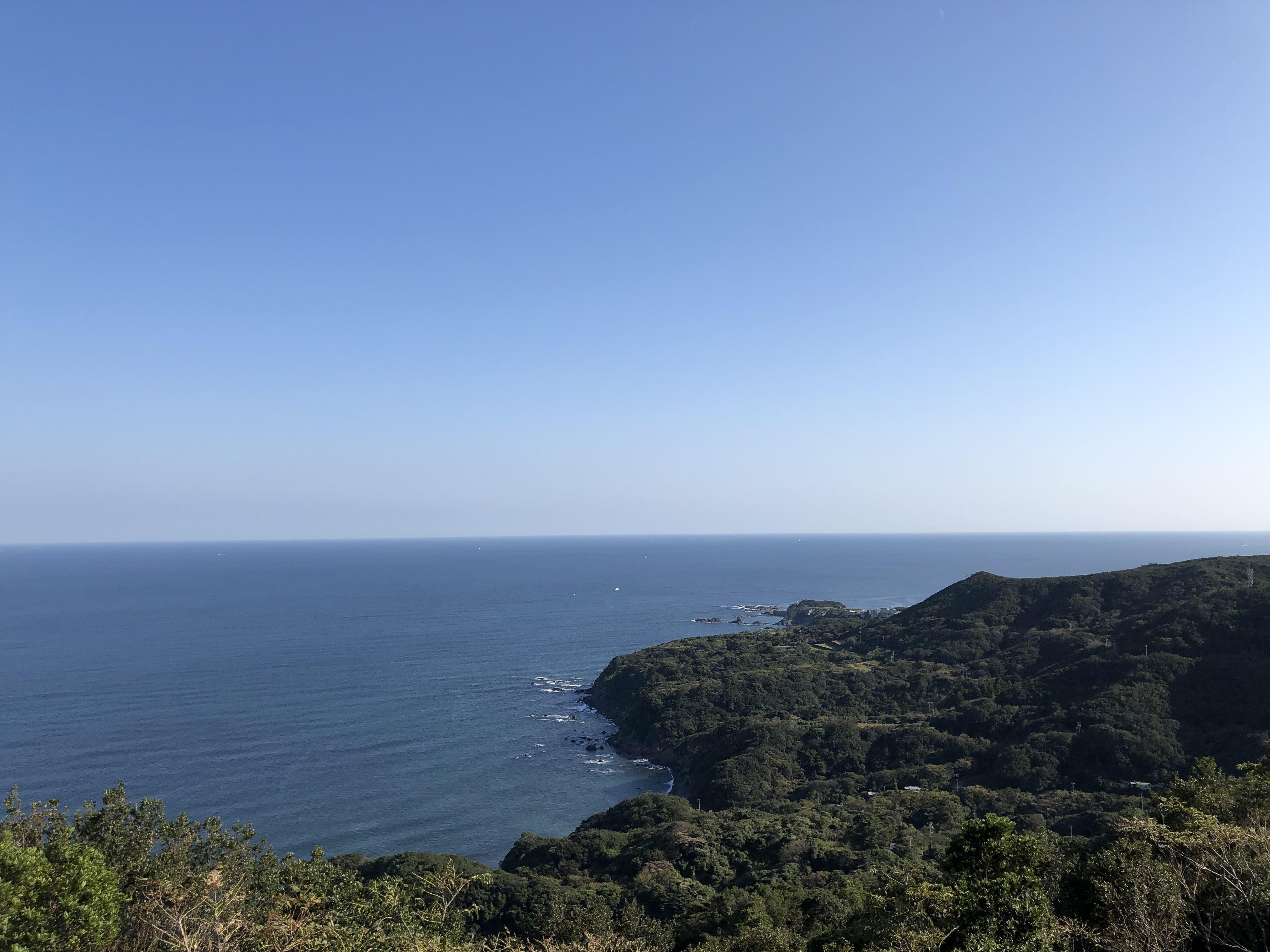 ぴーきち&ダイナ ハーレーで行く 伊勢志摩ツーリング 鳥羽展望台からの景色