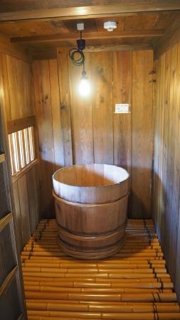 ぴーきち&ダイナ 美山 かやぶきの里ツーリング 美山民俗資料館 お風呂