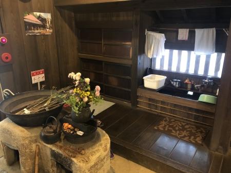 ぴーきち&ダイナ 美山 かやぶきの里ツーリング 美山民俗資料館 玄関